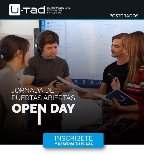 Made in Spain: U-tad celebra su Open Day de Postgrados el próximo 21 de septiembre