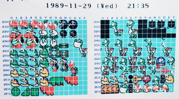 Super Mario World contaba con un diseño bastante particular de Yoshi en sus primeros bocetos