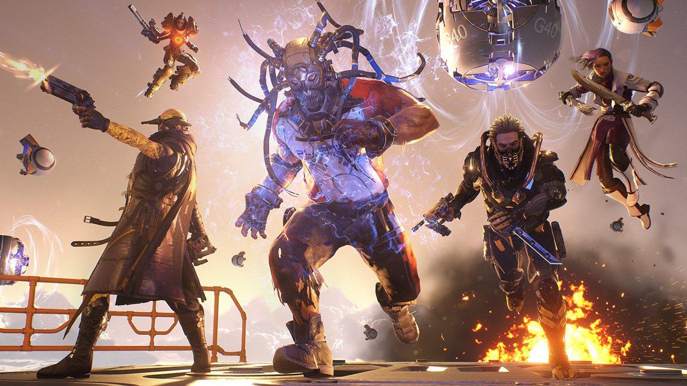 Lawbreakers marca un mínimo histórico de jugadores concurrentes en Steam