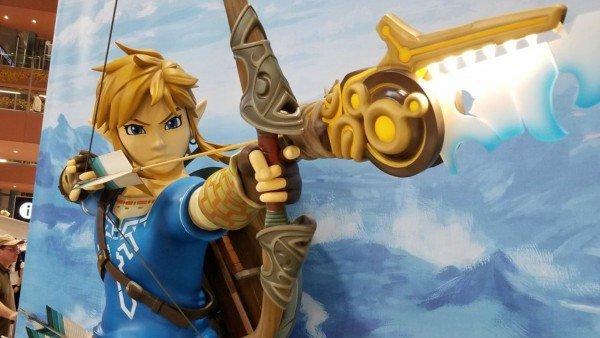 Nintendo conquista el Aeropuerto Internacional de Kansai con una estatua de Link