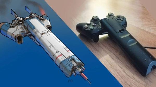Un artista crea alucinantes naves de ciencia ficción a partir de utensilios domésticos
