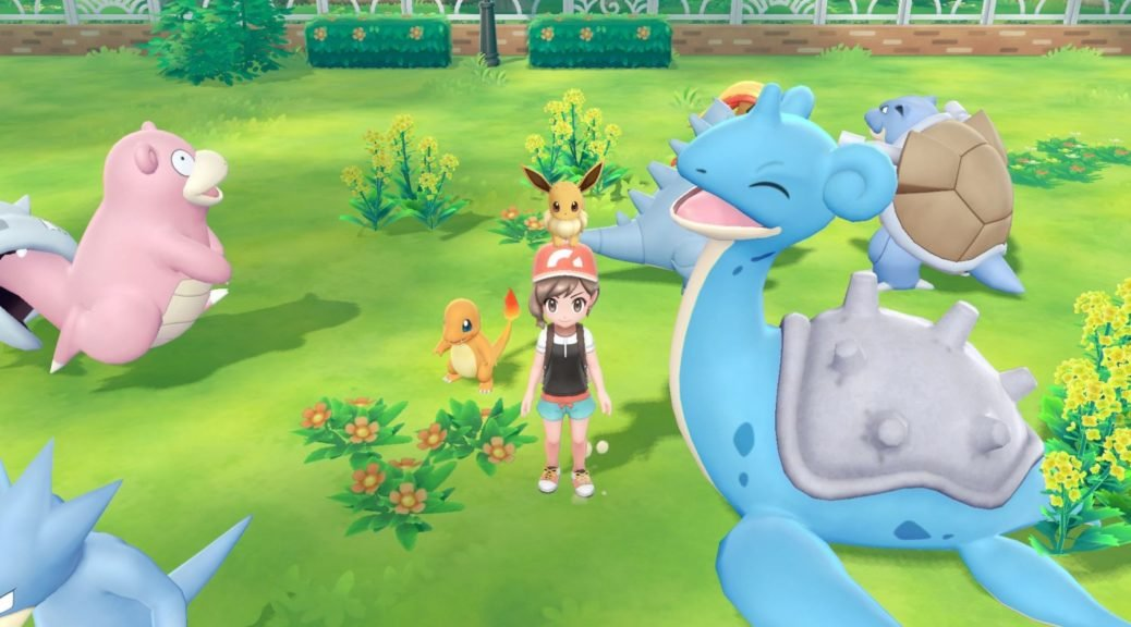 Pokémon Let's GO Pikachu!/Eevee! 8